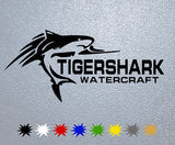 Tigershark Watercraft Logo Sticker