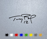 Tom Brady Signature Sticker