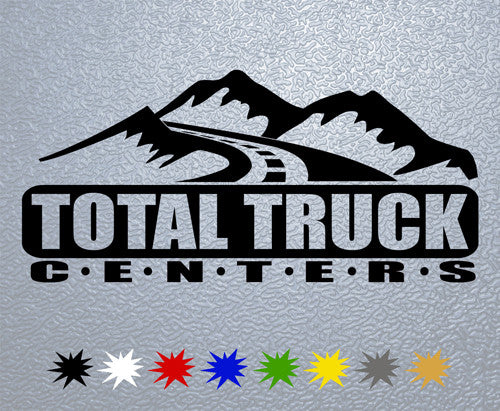 Total Truck Centers Logo Sticker