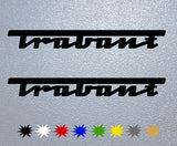Trabant Logo Sticker