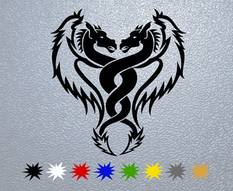 Tribal Dragons Sticker (x1)