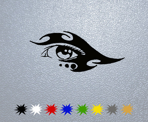 Tribal Eye Sticker (x1)