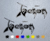 Venom Band Logo Sticker