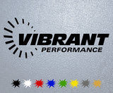 Vibrant Performance Logo Sticker