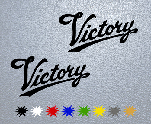 Victory Motorcycle Logo Sticker