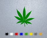 Weed Cannabis Plant Sticker