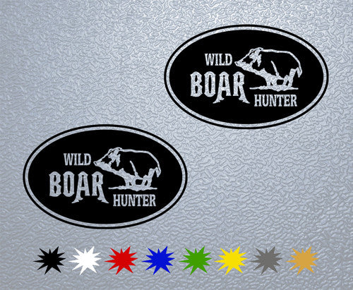 Wild Boar Hunter Sticker