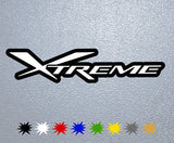 Xtreme Logo Sticker