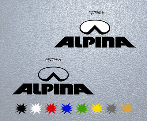 Alpina Helmets Sticker (x1)
