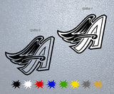 Anaheim Angels Logo Sticker