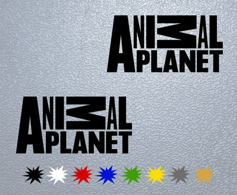 Animal Planet Sticker (x2)