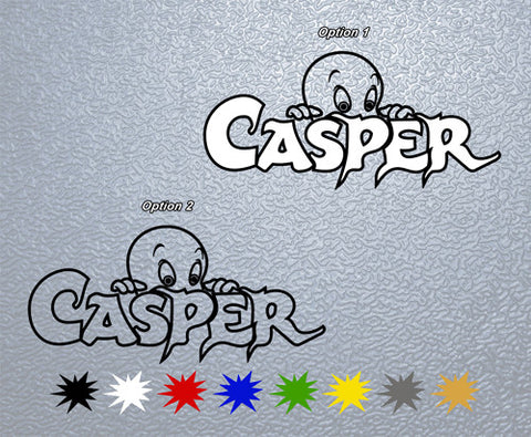 Casper The Spirit Beginning Sticker (x1)