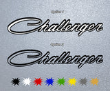 Dodge Challenger Logo #1 Sticker