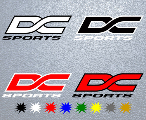 DC Sports Logo Sticker