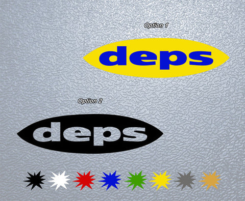DEPS Sticker (x2)