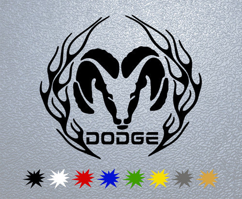 Dodge Ram #1 Sticker
