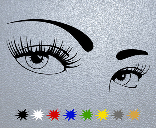 Sexy Eyes Sticker