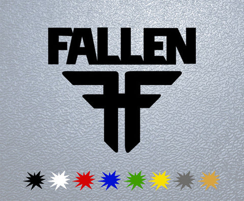 Fallen Logo Sticker (x1)