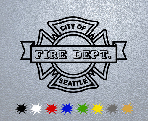 Seattle Fire Department Logo Sticker