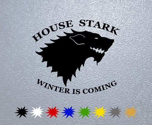 Game of Thrones House Stark SigilSticker