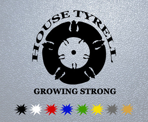 Game of Thrones House Tyrell Sigil Sticker (x1)