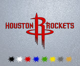 Houston Rockets Logo Sticker
