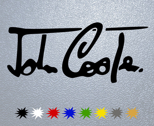 John Cooper Signature Sticker