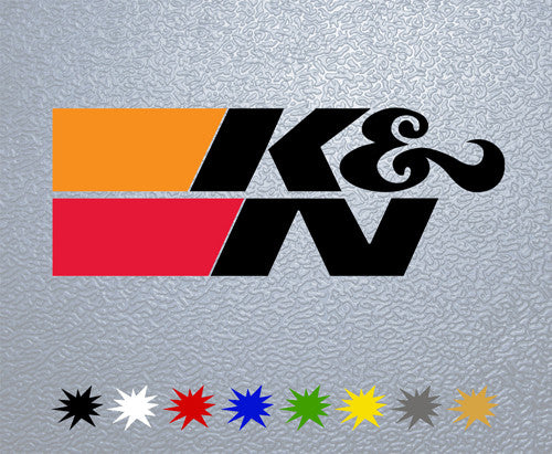 K&N Performance Filters Logo Sticker