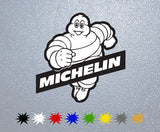 Michelin Man #1 Logo Sticker