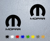 Mopar Racing Logo Sticker