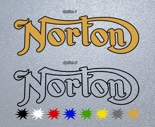 Triumph Norton Logo Sticker