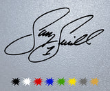 Sammy Swindell Signature Sticker
