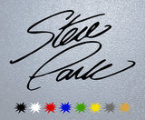 Steve Park  Signature Sticker