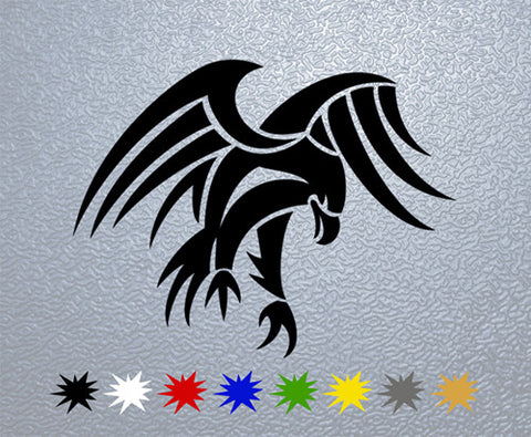 Tribal Eagle Sticker (x1)
