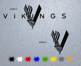 Vikings Movie Logo Sticker