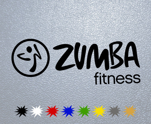 Zumba Fitness Sticker