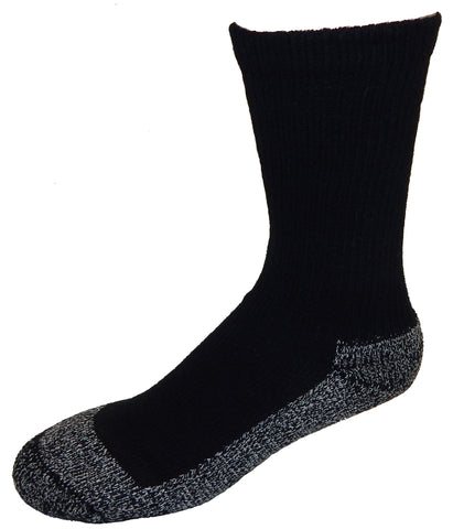 Cushees Crew Socks, Triple Thick w/ grey bottom