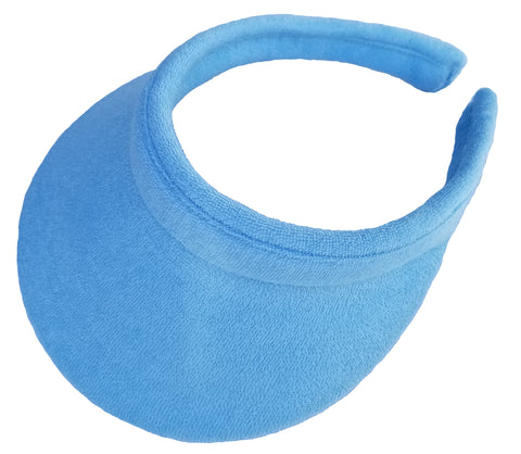 "Clip-on Sun Visor, 3-1/2"" Terry Cloth (215)"