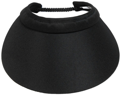 Coil Back Cloth Visor (221)