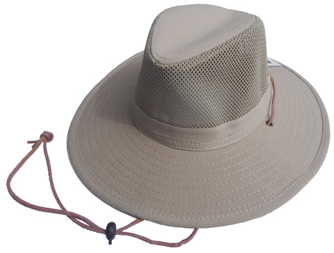 Pinch Safari Hat with Mesh around crown (264)