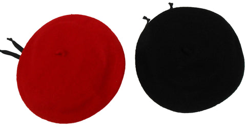 Wool Berets - Satin Lined