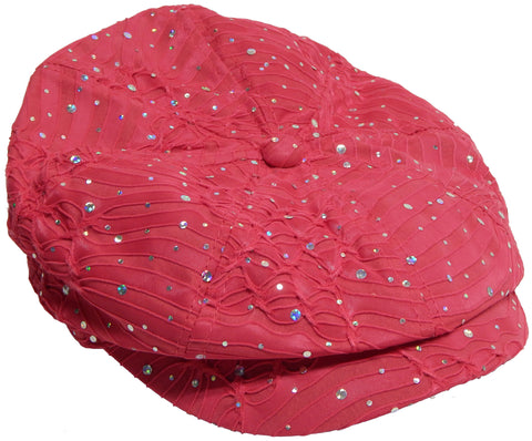 Sparkle Newsboy Cap (628)