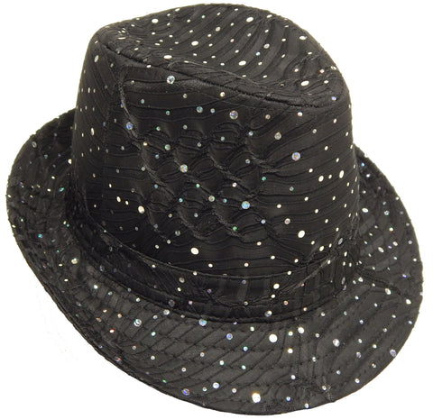 Sparkle Pinch Fedora (636)