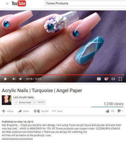 Liz's Acrylic Nails Review