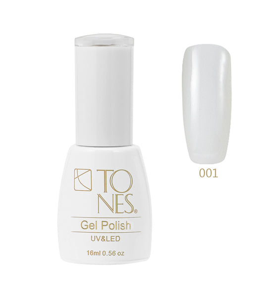 Gel Polish # 001 / 16 ml / 0.56 fl oz | Gel de Color # 001 / 16 ml / 0.56 fl oz