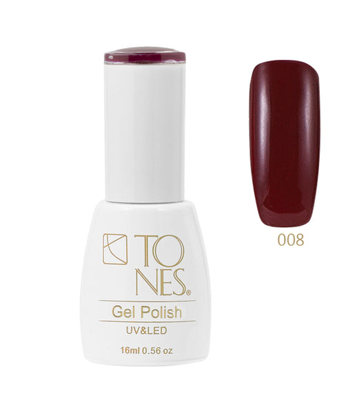 Gel Polish # 008 / 16 ml / 0.56 fl oz | Gel de Color # 008 / 16 ml / 0.56 fl oz
