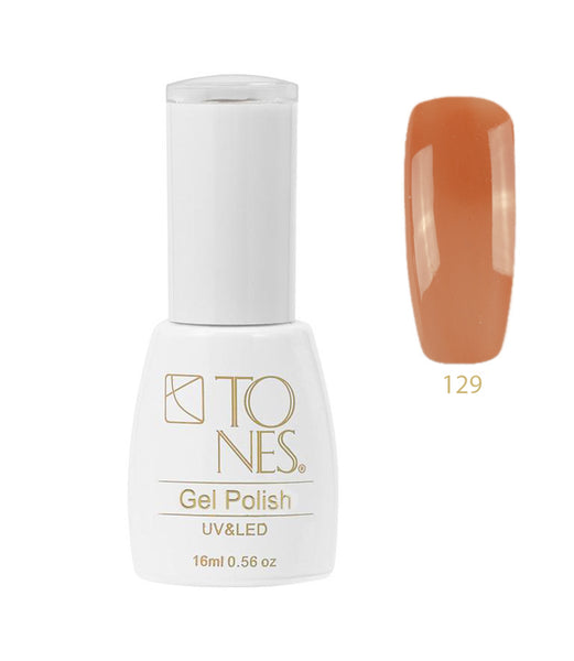 Gel Polish #129 / 16 ml / 0.56 fl oz / Gel de Color #129 / 16 ml / 0.56 fl oz