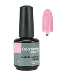 Color Corrective Soak off Gel No. 01  15 ml  0.5 fl oz / Gel Correctivo de Color  No. 01  15 ml  0.5 fl oz