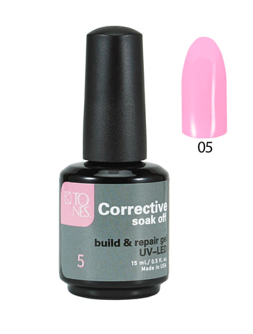Color Corrective Soak off Gel No. 05  15 ml  0.5 fl oz / Gel Correctivo de Color  No. 05  15 ml  0.5 fl oz