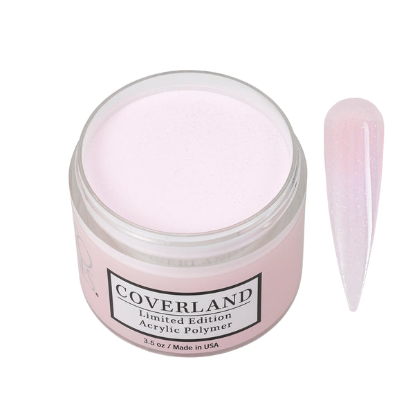 "Coverland Limited Edition Acrylic Powder 3.5 ""Diamond Pink"""